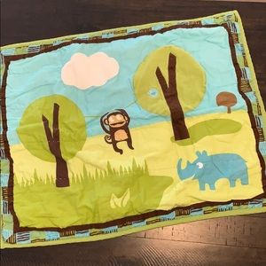 5/$25 Adorable animal themed pillow sham